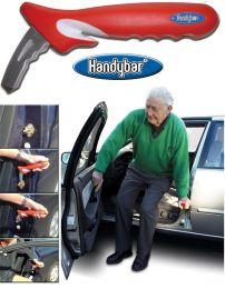 Handybar, ind/udstigning af bil