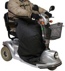 Thermodækken til el-scootere sort Medium