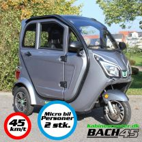 Kabinescooter Bach 45 Delux