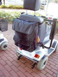 Taske til scooter og kørestol